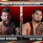 ジェフ・コブ対ジョシュ・ウッズ!ROH世界タッグ王座戦、SCU対CMLL!【ROH・#376】