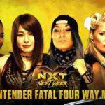 次期NXT女子王座挑戦者決定戦、イオ対イム対エバンス対ブレア!NXTタッグ王座戦、UE対ヘビーマシナリー!【WWE・NXT・2018年12月】