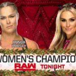 WWE女子タッグ王座新設!ロンダ・ラウジーがRAW女子王座防衛!【WWE・RAW・2018.12.24・PART2】