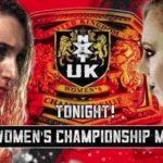リア・リプリーがNXT UK女子防衛!ジョー・コフィ対トラビス・バンクス!トニー・ストーム登場!【WWE・NXT UK・2018年12月】