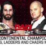 インターコンチネンタル王座・TLC戦、セス・ロリンズ対バロン・コービン!【WWE・RAW・2018.12.10・PART2】