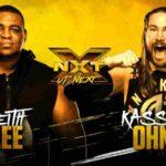 キース・リー対カシアス・オーノ!ドミニク・ ダイジャコビッチ完勝!【WWE・NXT・2019年1月】