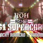 ROH・試合結果・2019.1.26・ロードトゥG1スーパーカード・最終日