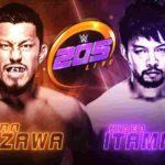 イタミ・ヒデオ退団か?戸澤陽がダイビングセントーンでヒデオに勝利!デバリが裏切りのクローズライン!【WWE・205 LIVE・2019年1月】