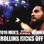セス・ロリンズ対ディーン・アンブローズ!ボビー・ラシュリーがフィン・ベイラーにチョークスラム連発!初代WWE女子タッグ王座決定戦・予選スタート!【WWE・RAW・2019.1.28・PART1】