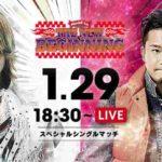 新日本プロレス・試合結果・2019.1.29・ロードトゥニュービギニング【第2試合まで無料】