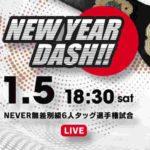 新日本プロレス・試合結果・2019.1.5・ニューイヤーダッシュ【全試合無料】