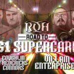 ROH・試合結果・2019.1.25・ロードトゥG1スーパーカード・2日目