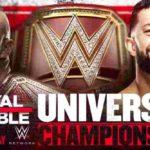 WWE・2019.1.27・ロイヤルランブル2019の対戦カード