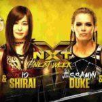 カイリ・セイン&紫雷イオ対MMAフォーホースウィメン!【WWE・NXT・2019年1月】