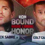 ROH・試合結果・2019.2.10・バウンドバイオナー