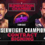 クルーザー級王座戦・調印式!ノーDQマッチ、ノアム・ダー対トニー・ニース!【WWE・205 Live・2019年2月】
