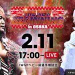 新日本プロレス・試合結果・2019.2.11・ニュービギニング in 大阪【第2試合まで無料】