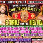 テリブレが介入の連続でカンペオン・ウニベルサル2019優勝!【CMLL・2019年2月】