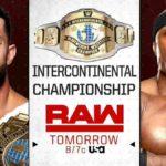 フィン・ベイラーがIC王座から陥落!ロリンズ対ベンジャミン!リコシェ&ブラック組が勝利!【WWE・RAW・2019.3.11・PART1】
