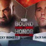 ザック・セイバー・ジュニア対ロッキー・ロメロ!【ROH・#391】