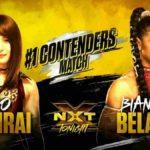 次期NXT女子王座挑戦者決定戦、紫雷イオ対ビアンカ・ブレア!【WWE・NXT・2019年3月】