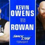 オーエンズ対ローワン!アスカが次期挑戦者を、中邑&ルセフがリコシェ&ブラックを襲撃!【WWE・スマックダウンライブ・2019.3.5・PART2】
