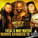 アダム・コールがNXT王座挑戦権獲得!紫雷イオ&カイリ・セイン!【WWE・NXT・2019年3月】