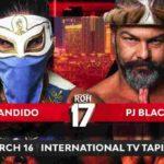 PJブラック対バンディード!トレイシー・ウィリアムズ対ケニー・キング!【ROH・#396】