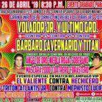 ティタンのティタニカ&アームバー炸裂!トルネオ・インクレイブレ・デ・パレハス2019決勝戦!【CMLL・2019年4月】