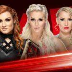 MITB2019直前回!シャーロット&エバンスが共闘してベッキーにテーブルパワーボム!【WWE・RAW・2019.5.13・PART1】
