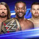 WWE王座戦、コフィ・キングストン対AJスタイルズ対サミ・ゼイン!【WWE・スマックダウンライブ・2019.5.7・PART2】