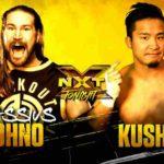 KUSHIDAがNXTデビュー戦をホバーボードロックで勝利!【WWE・NXT・2019年5月】