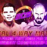 次期クルーザー級王座挑戦者決定戦、戸澤対カリーヨ対ローカン対グラック!【WWE・205 Live・2019年6月】