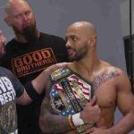 WWE・2019.6.23・ストンピンググラウンズ2019・試合結果・PART1【クルーザー級王座戦~SDタッグ王座戦】