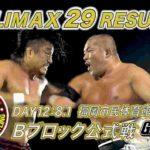 新日本プロレス・試合結果・2019.8.1・G1クライマックス29・12日目(Bブロック6戦目)・PART2
