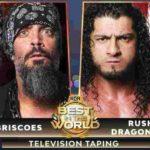 兄弟対決、ルーシュ&ドラゴン・リー対ブリスコブラザーズ!【ROH・#410】
