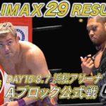 新日本プロレス・試合結果・2019.8.7・G1クライマックス29・15日目(Aブロック8戦目)・PART2