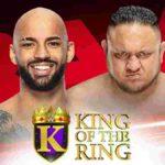 キング・オブ・ザ・リング準々決勝戦、リコシェ対サモア・ジョー!【WWE・RAW・2019.9.2・PART2】