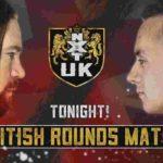 ブリティッシュラウンドマッチ、カシアス・オーノ対シド・スカラ!【WWE・NXT UK・2019年9月】