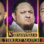 バロン・コービンがKOTR決勝戦進出!アレキサンダーがUS王者・AJスタイルズに勝利!【WWE・RAW・2019.9.9・PART2】