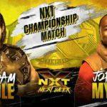 ジョーダン・マイルズ(ACH)がNXT王座に初挑戦!紫雷イオが女子王座挑戦者決定戦出場!【WWE・NXT・2019年9月】