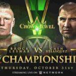 WWE・2019.10.31・クラウンジュエル2019・試合結果・PART1【キックオフショー~フューリー対ストローマン】