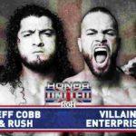 ROH・2019.10.25・オナーユナイテッド2019・初日・試合結果