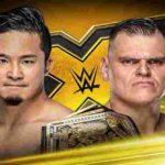 ウォルター対KUSHIDA!ロデリック・ストロング対イザヤ・スコット!【WWE・NXT・2019.10.9・PART2】