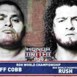 ROH・2019.10.27・オナーユナイテッド2019・最終日・試合結果