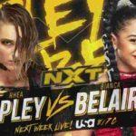 リア・リプリー対ビアンカ・ブレア!紫雷イオがリプリーを襲撃!【WWE・NXT・2019.10.23・PART1】