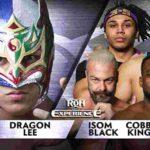 ドラゴン・リー対ジェフ・コブ!VEに助っ人としてダン・マフが加入&ROH世界6人タッグ王座防衛!【ROH・#427】
