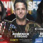 WWE・2019.11.24・サバイバーシリーズ2019・試合結果・PART1【キックオフショー~NXT王座戦】