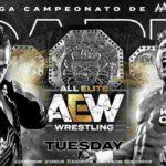 AAAメガ王座戦、ケニー・オメガ対ジャック・エバンス!【AEWダーク・EP8】