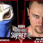 アレックス・ゼインがROHデビュー戦でバンディードにタコドライバー!【ROH・#439】