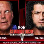 ROH・2020.1.11、1.12・ROHオンツアー2連戦の対戦カード