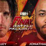 極上のチェーンレスリング、ジョナサン・グレシャム対アレックス・シェリー!【ROH・#462】