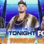 次期ユニバーサル王座挑戦者決定戦、ブライアン対ミズ対コービン!【WWE・スマックダウン・2019.12.27・PART2】