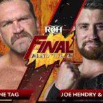 ROH・2019.12.13・ファイナルバトルの対戦カード